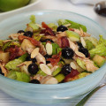 Winter Blueberry Salad with Maple Vinaigrette - Paleo Food Cooking