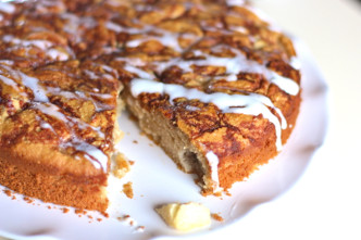 Grain-free Apple Spice Coffee Cake