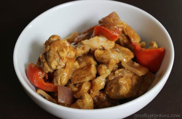 Ginger Curry Chicken